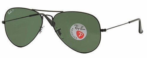 2a84270ab Ray Ban Top Polarizado Rb3025 002/58 62 Aviador Preto Grande - R ...