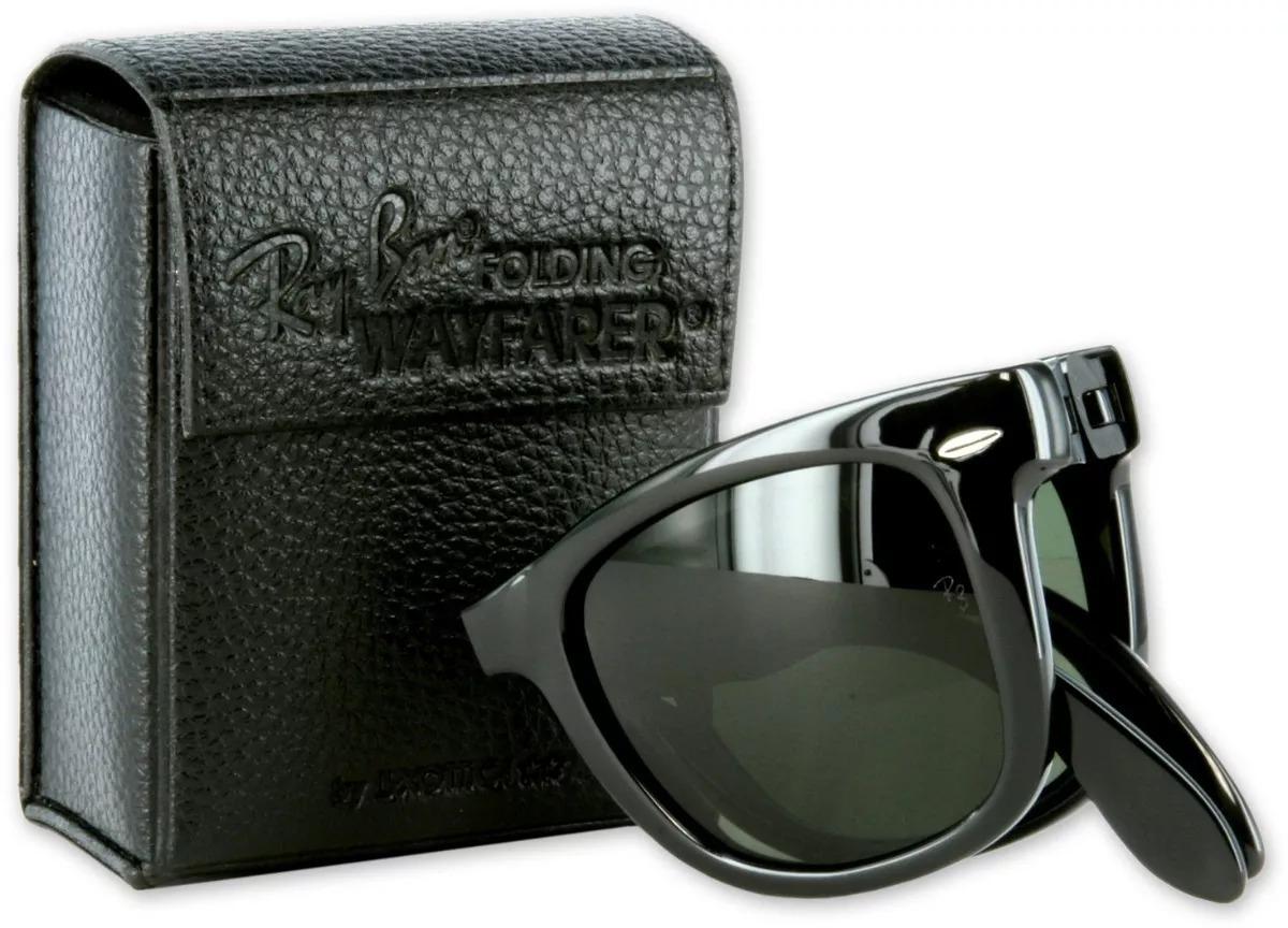 69d6ad75c5 Ray Ban Wayfarer Folding Originales Italianos Garantía - $ 2.399,00 ...