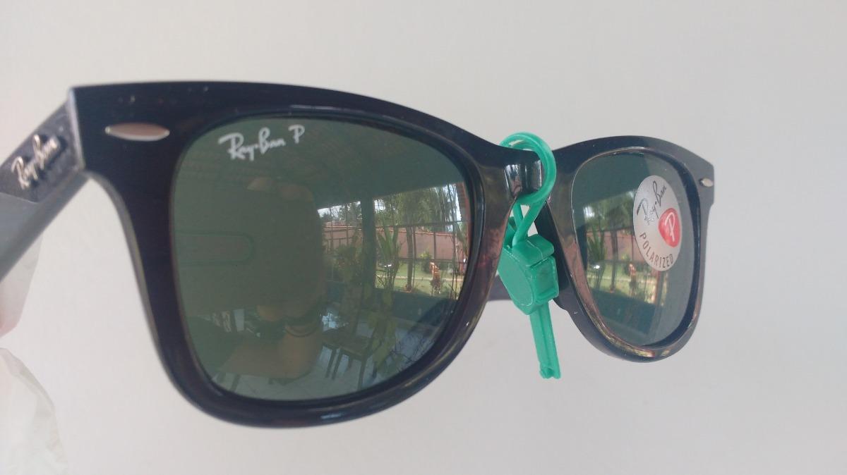 f8af6750a Óculos De Sol Ray-ban Wayfarer Clássico - R$ 400,00 em Mercado Livre