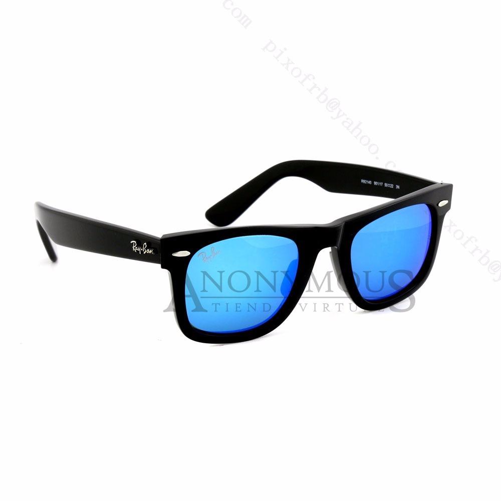 ray ban wayfarer polarizadas azul