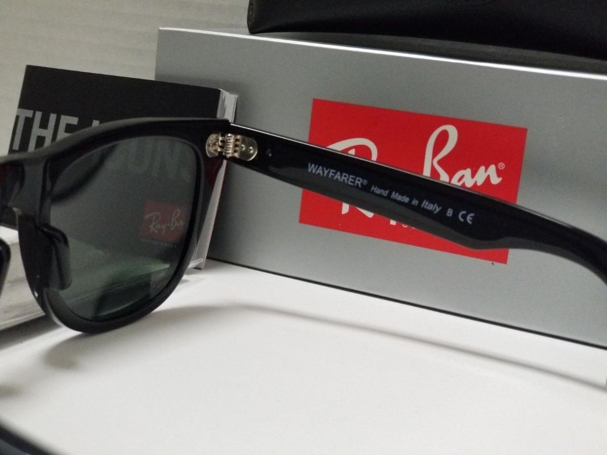 Ray Ban Wayfarer Rb2140 Classico Lente Verde Fumê Unissex - R  289,00 em  Mercado Livre ef9b7e5237