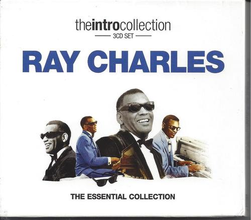 ray charles - essential collection - box lacrado importado