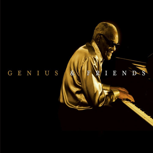 ray charles - genius & friends. blues, jazz. cd.