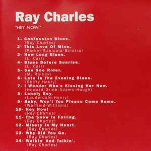 ray charles  - hey now!   cd original