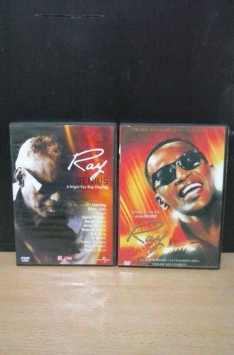 ray charles la película + dvd ray genius