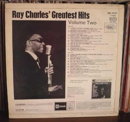 ray charles lp greatest hits vol. 2 ingles