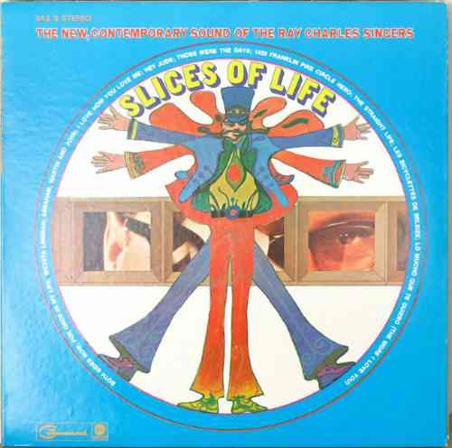 ray charles singers - lp slices of life (1969)
