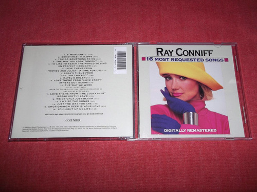 ray conniff - 16 most requested songs cd usa ed 1990 mdisk