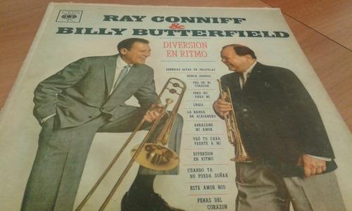 ray conniff & billy butterfield diversion en ritmo - lp