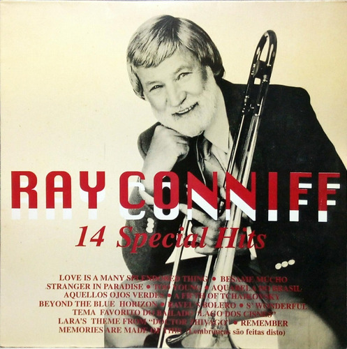 ray conniff lp 1986 14 special hits columbia 15490