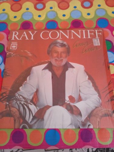 ray conniff lp amor, amor 1982