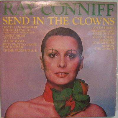 ray conniff   -  send in the clowns  -  1976