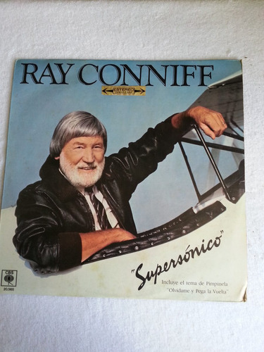 ray conniff - supersónico (lp)