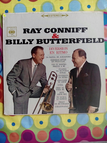 ray conniff  y billy butterfield lp  diversion en ritmo