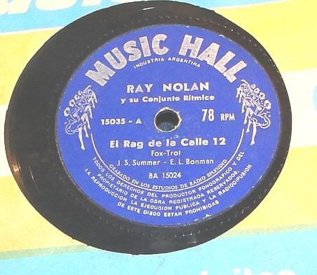 ray nolan y su conjunto ritmico rag de la call 12/tock de cl