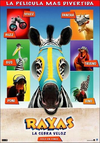 rayas - la cebra veloz- dvd - buen estado - original!!!