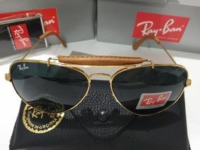 306e2a8d4f Ray Ban Cacador Couro De Sol - Óculos no Mercado Livre Brasil