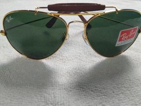 e645ac30b Oculos Ray Ban Caçador Couro - Óculos De Sol no Mercado Livre Brasil