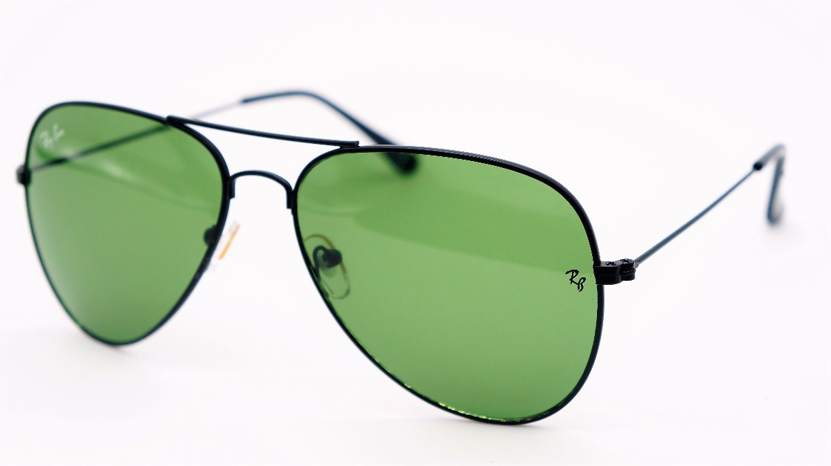 rayban ray ban aviador lente verde preto 3025 3026 original. Carregando  zoom. 213b6f353a