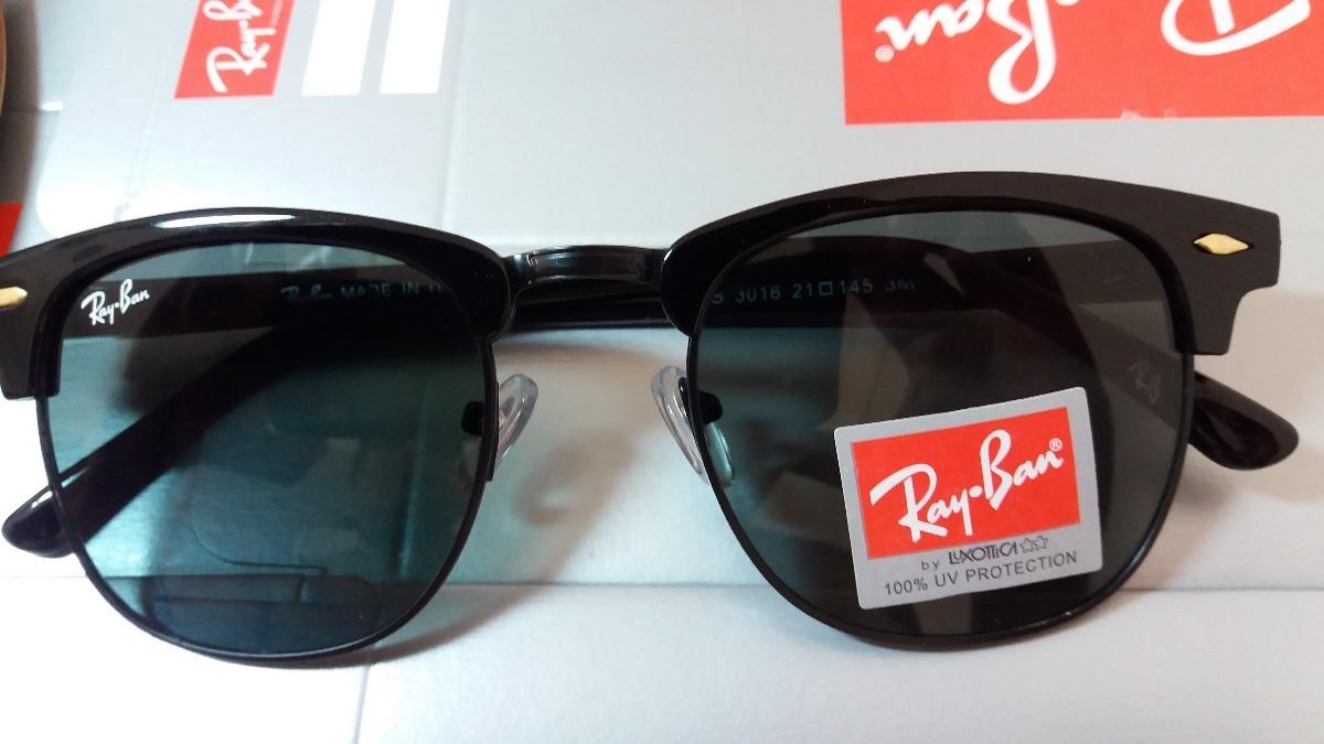 rayban rb3016 clubmaster preto degrade italia óculos 4,9cm. Carregando zoom. 585930c602