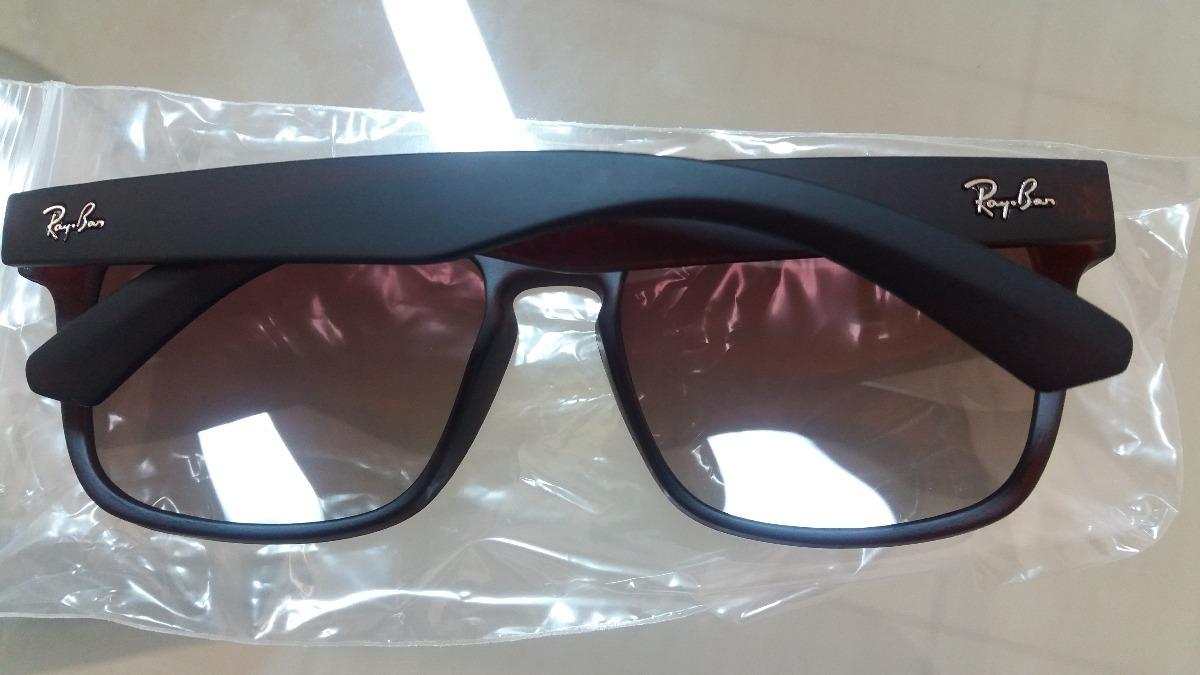 ac423039f4a04 ... coupon code rayban rb4165 2470 justin polarizado marrom óculos italy.  carregando zoom. f2148 4150e