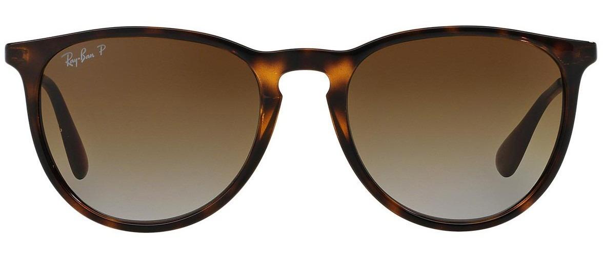 f3ce011d1f7bb rayban rb4171 erika marrom brilhoso oculos italiano tam 54 g. Carregando  zoom.