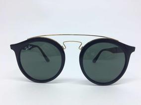 a1a6aff69 Óculos De Sol Ray Ban Gatsby Redondo Rb4256 Preto Original - Óculos ...