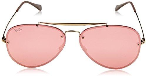 6dab8e68c282 Rayban Womens Blaze Flat Lens Pilot Aviator Sunglasses - $ 281.727 ...
