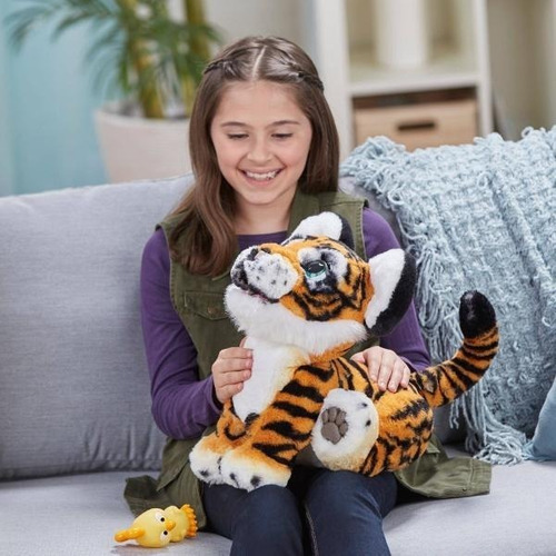 rayler el tigre jugueton furreal de hasbro