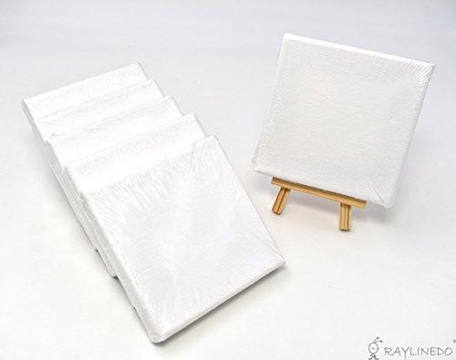 raylinedo conjunto de 6 piezas marco para artista lona en bl