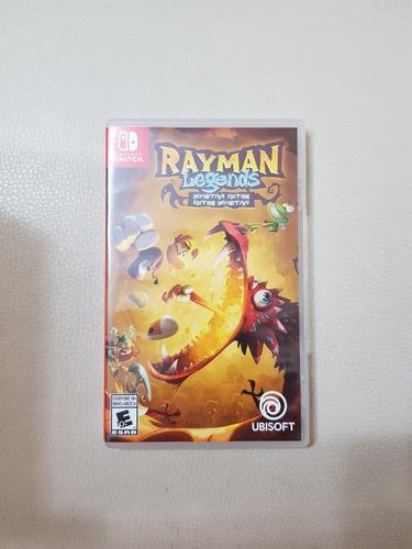 rayman legends def. ed. nintendo switch, excelente estado