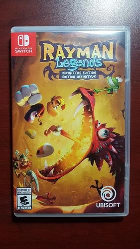 rayman legends definitive edition, juego nintendo switch