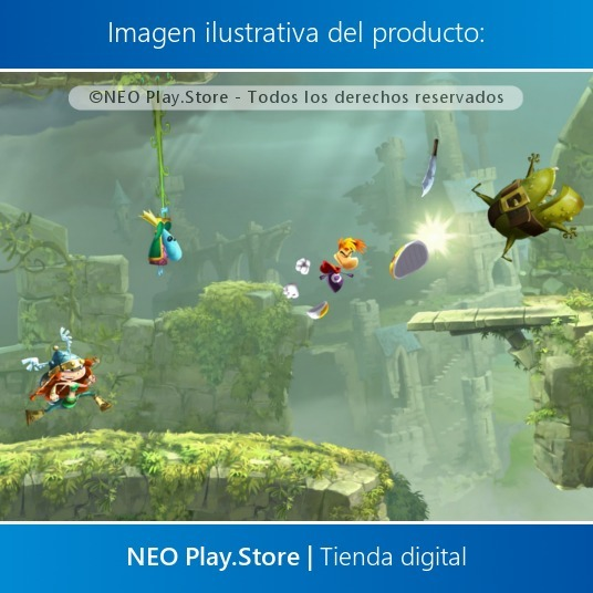 Rayman Legends Juego Ps4 Familiar Ninos Ninas Infantil 499 00