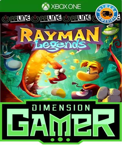 rayman legends xbox one no codigo offline