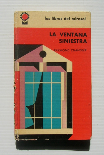 raymond chandler la ventana siniestra libro importado 1962