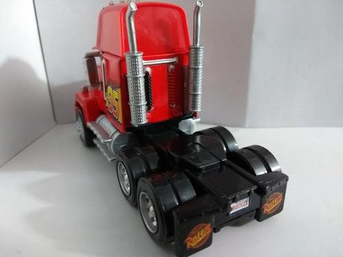 rayo mc queen mack mula de cars 3 cabezote juguete hot wheel