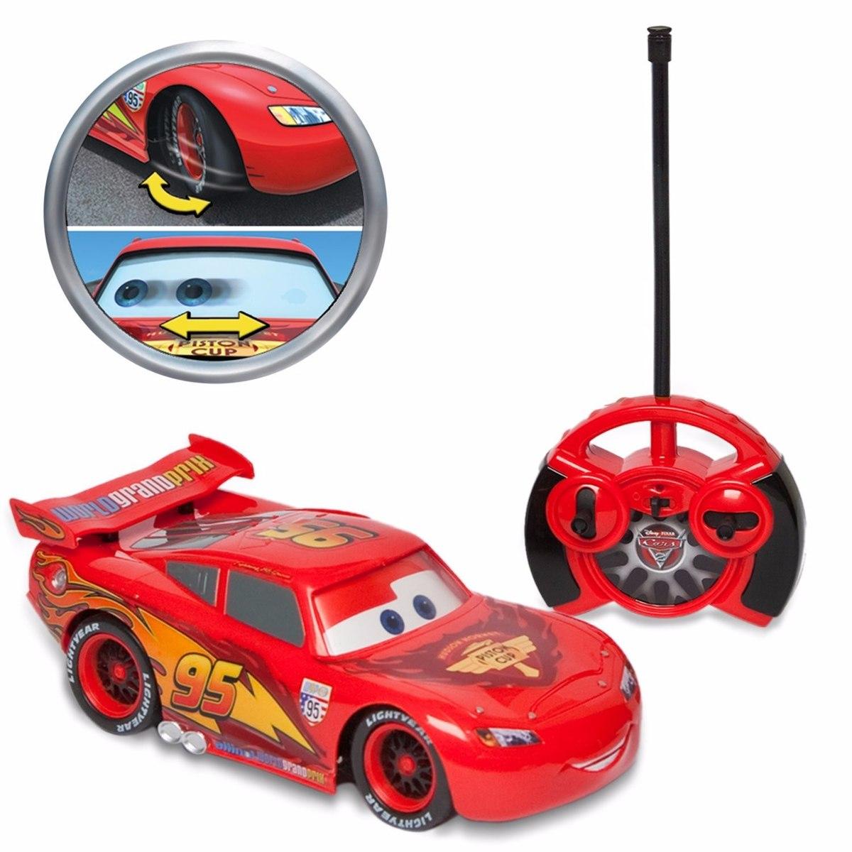 Rayo Mcqueen Carrito Control Remoto Carro Cars Disney
