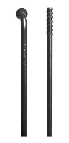 rayos p/ bici sapim leader curvos c/ niples 292 mm x 32 unid