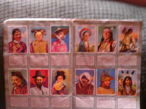 razas humanas (raças humanas) album de figurinhas !