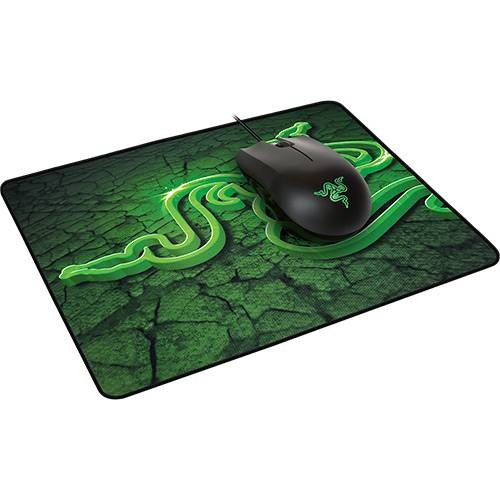 razer combo mouse abyssus + mousepad goliathus small control