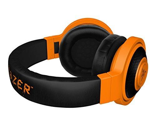 razer kraken móvil analógica música & gaming headset-neon
