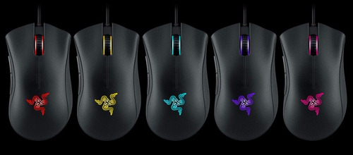 razer mouse gamer deathadder chroma 5botões 10.000dpi 4g sen