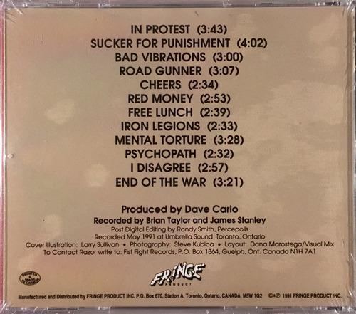 razor - open hostility - cd importado canada novo
