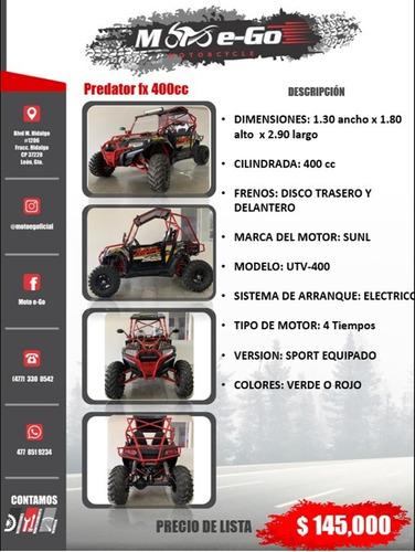 razor racer predator fx 400cc