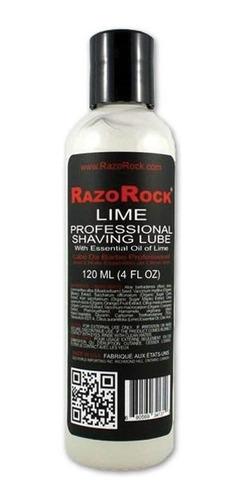 razorock lime professional shaving lube 120 ml