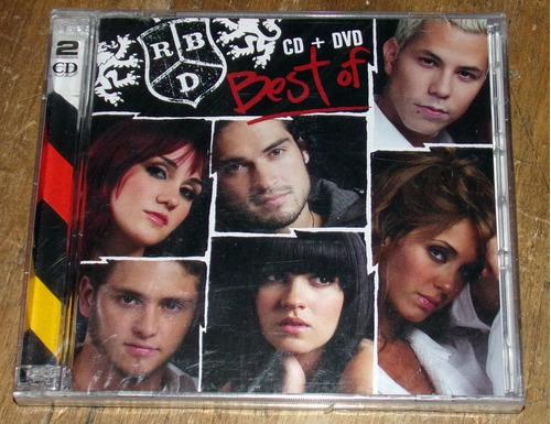 rbd best of cd + dvd sellado promo / kktus
