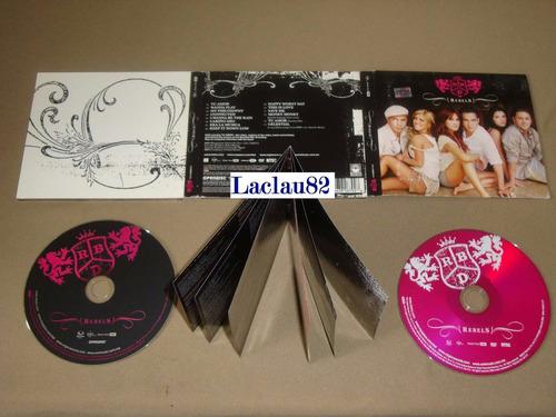 rbd rebels 2006 emi cd + dvd digipack delux edicion