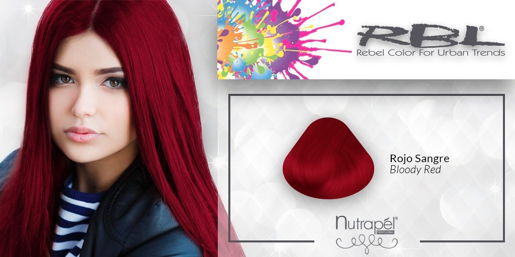 Rbl Tinte De Fantasia Rojo Sangre 59 00 En Mercado Libre