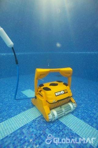 rôbo aspirador automático para piscina dolphin wave 100