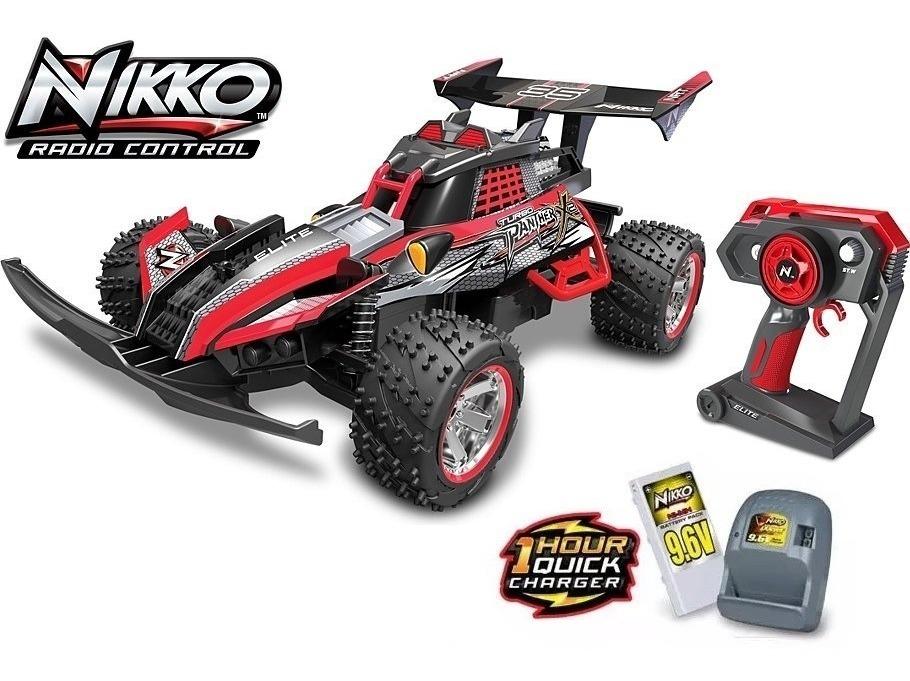 R/c Buggy Nikko Turbo Panther X2 Suspension Alcance De 100mt